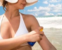 Ефективен домашен спрей срещу слънчево изгаряне