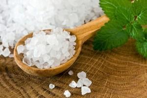 Лечение с морска сол