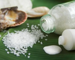 Морската сол цери екземи и псориазис